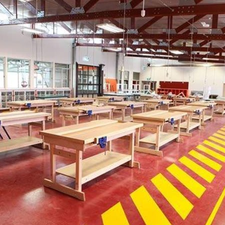 ONTTC's facilities provide you with dedicated work areas, model house and carpentry construction areas that are designed for you to excel in your Vocational Education and Training course.
